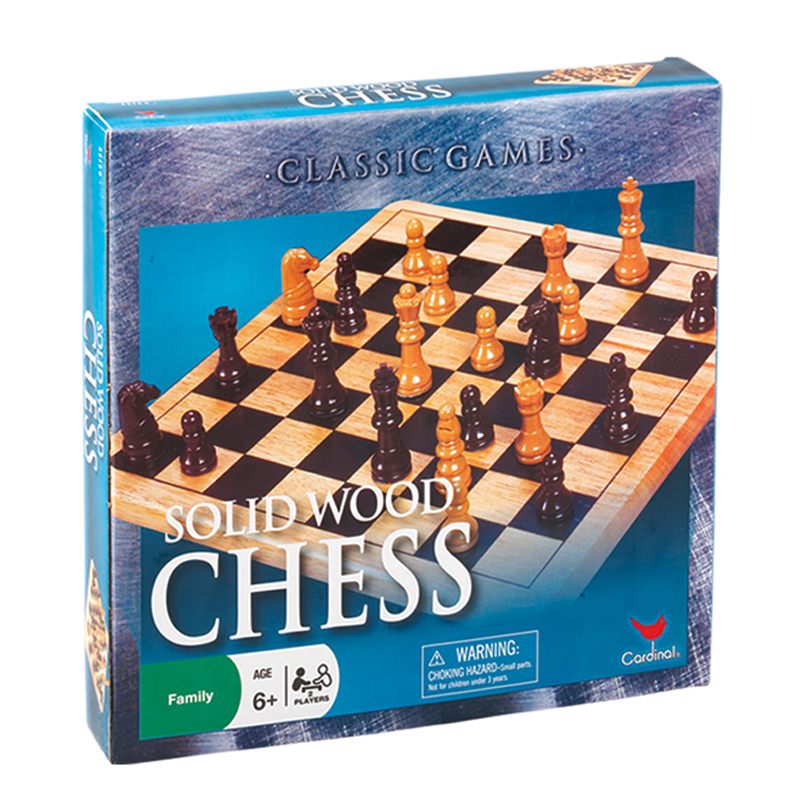 108 – Wood Chess Set