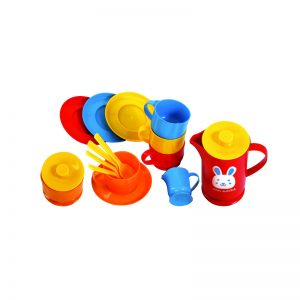 432 – Gowi Small Coffee Set In Net