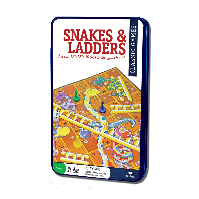74d – Snakes & Ladders In Tin