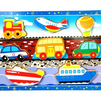 136 – Chunky Puzzles 6 Des Transport