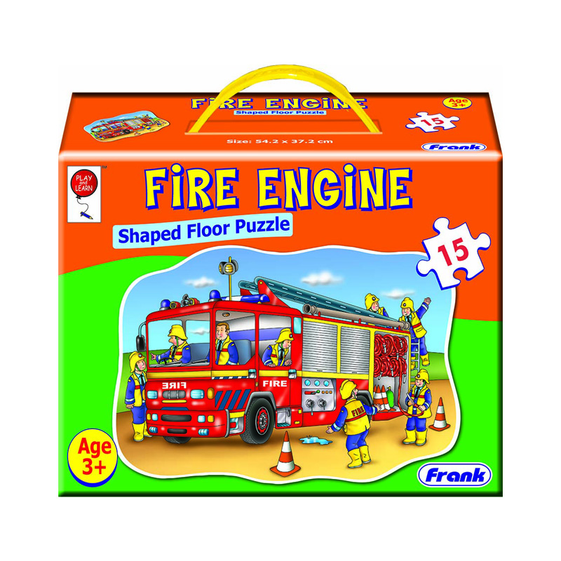 147a – Big 15pc Fire Engine Floor Puzzle