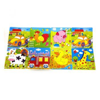 129 – 10pc Puzzle 8 Des