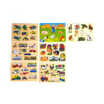 137 – Peg Puzzle 18mm Thick 13 Des (1)