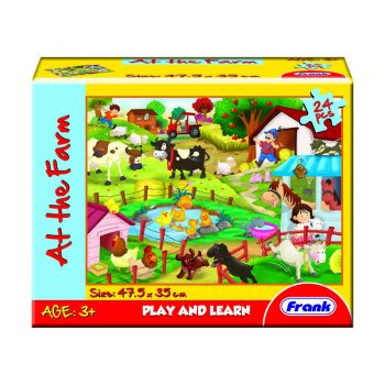 145 – 24 Pc Floor Puzzles 3 Des At Farm