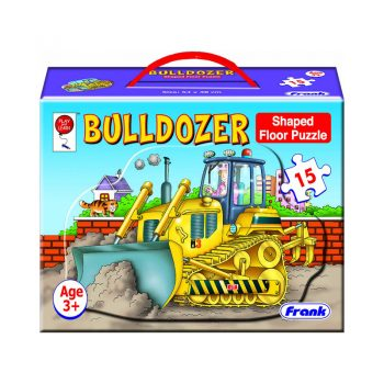 147f – Big 15pc Bulldozer Floor Puzzle