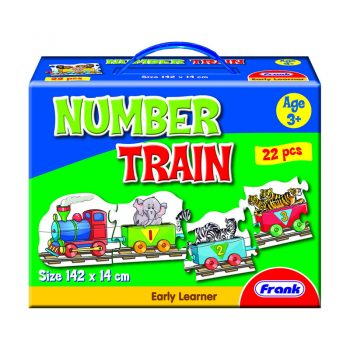 148 – Number Train Floor Puzzle