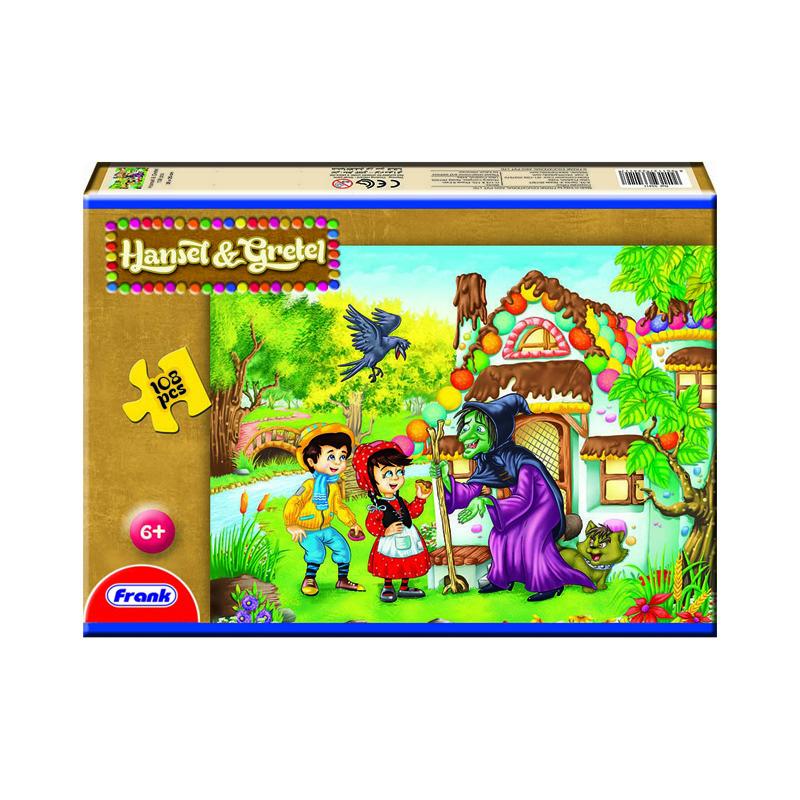 157 – 108pc Puzzle 7 Designs Hansel & Gretel