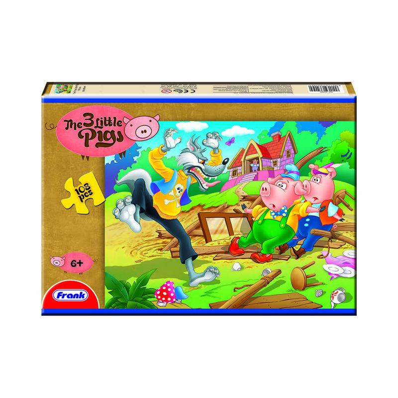 157 – 108pc Puzzle 7 Designs 3 Little Pigs