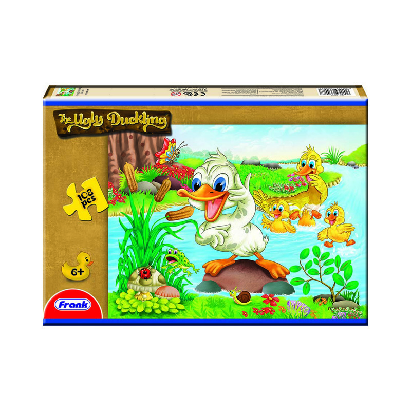 157 – 108pc Puzzle 7 Design Ugly Duckling