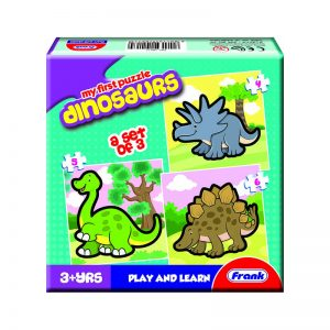 158 – First Puzzle 3 In A Box Dinosaurs