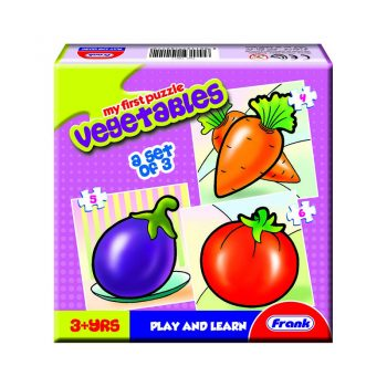 158 – First Puzzle 3 In A Box Vegetables