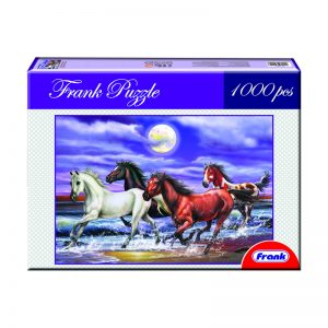170 – 1000pc Frank Puzzles 10 Des Galloping
