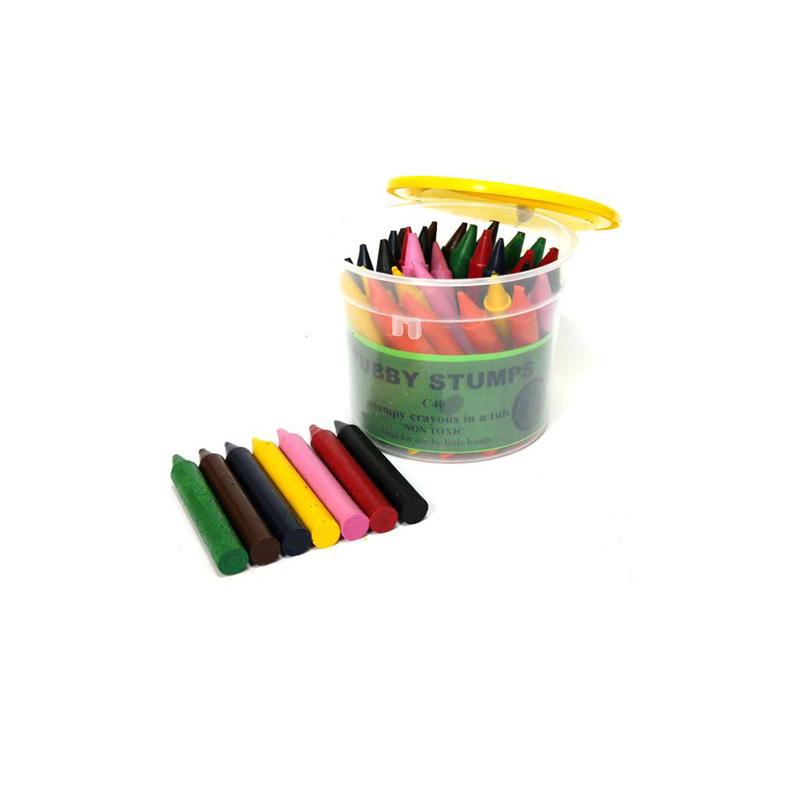196 – Tubby Stumps C40 Crayons