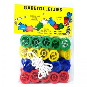 204 – Cotton Reels Bag Of 20+lace