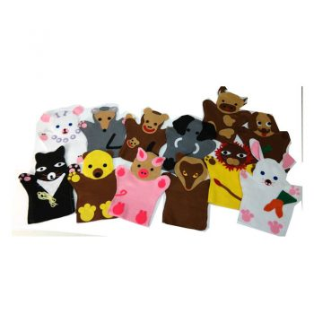 252 – Glove Puppets (46 Des) Each Animals