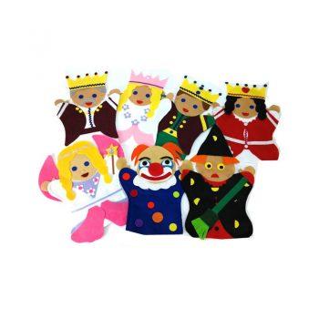 252 – Glove Puppets (46 Des) Each Fantasy