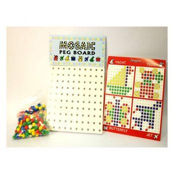 268 – Mosaic Peg Board + 200 Pegs