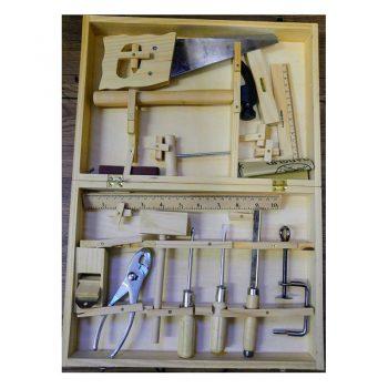 292 – 16pce Tool Set Wood Case