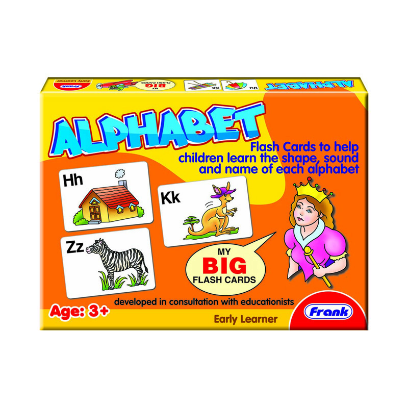 317a – Big Flash Cards. Alphabet