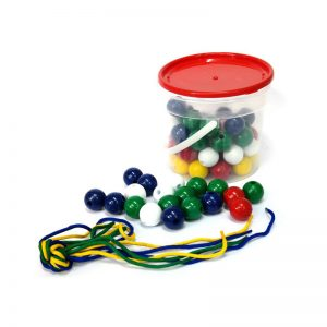 330 – Bucket Of Beads + Laces