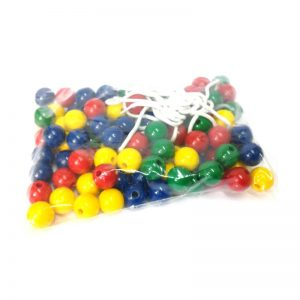 331 – 100 Beads 22mm + 5 Laces In Bag