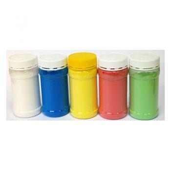 342 – Powder Paint +-500g/Jar 5 Colours