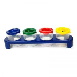 354 – Plastic Stand + 4 Paint Pots