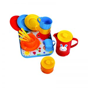 422 – Gowi Small Coffee Set On Tray (1 Des)