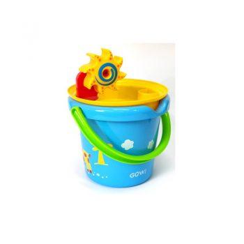 442c – Gowi 18cm Bucket+Sieve+MiniWheel