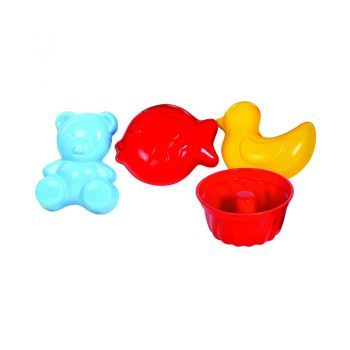 446 – Gowi Beach Moulds Bag Of 12