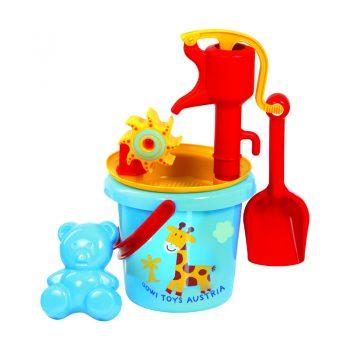 479a – Gowi Bucket + Pump Sand Set + Sieve