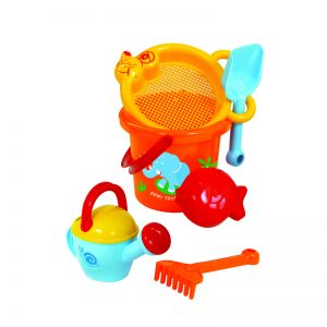 479b – Gowi Bucket+ Watering Can Sand Set