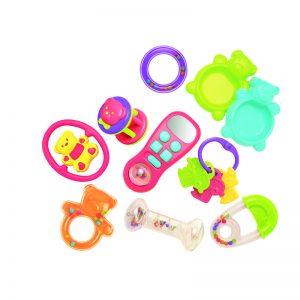 490 – 10pc Infant Toy Set