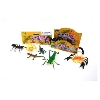 552 – Insects And Reptiles Bag Of 8