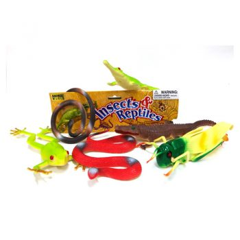 557d – Big Playset Insects & Reptiles
