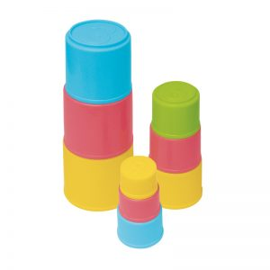 565c – 9 Stacking Cups In Box