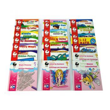 645 – Buki Mini Activity Books (11 Des)