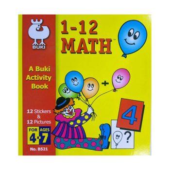 645L – 1-12 Maths (B521)