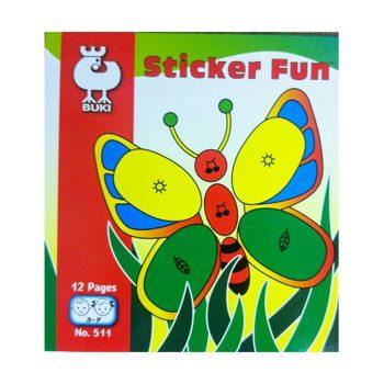 645a – Sticker Fun (age 3-7) (511)