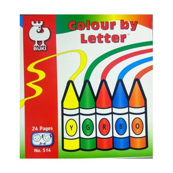 645b – Colour By Letter (age 3-6) (B514)