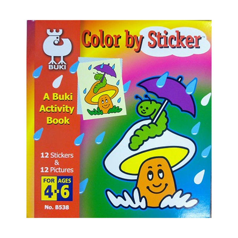 645c – Colour By Sticker (age 4-6) (B538)