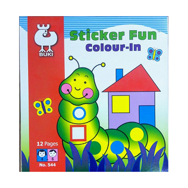 645d – Sticker Fun Colour In (544)