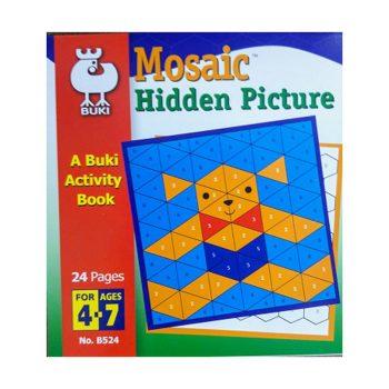 645k – Mosaic Hidden Picture (B524)