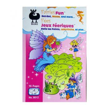 646a – Fairies Fun Dot To Dot (8012)