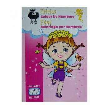 646h – Fairies Colour By Number (8009)