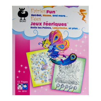 647L – Fairies Fun Dot To Dot (8018)