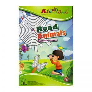 648d – Road Animals Mazes