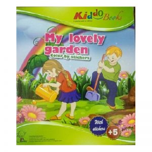 649b – My Lovely Garden Colour By Stickers