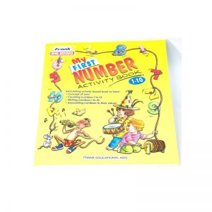 654C – My First Number Book 1-10