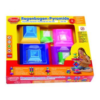 710 – Gowi Rainbow Pyramid